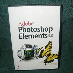 Adobe Photoshop Elements 5.0 for Windows w/ Serial Number - $25 for Sale in Hauppauge, NY
