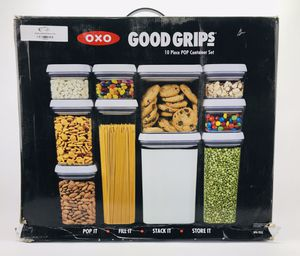 NEW-OXO Pop 10pc Storage Container Set for Sale in Indianapolis, IN