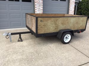 5x8 utility trailer for Sale in Troutdale, OR