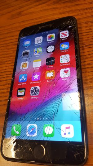 iphone 7plus 128gb Unlocked Cracked for Sale in Portland, OR