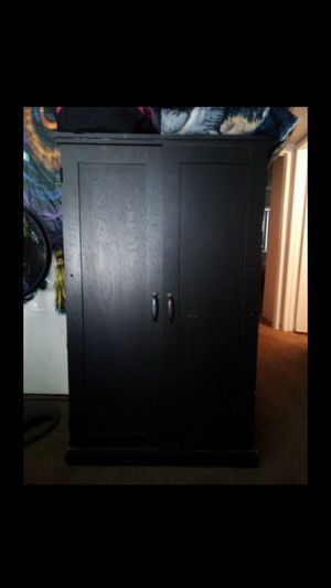 BLACK DRESSER for Sale in Highland, CA