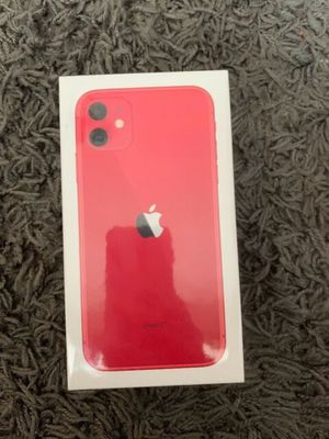 IPHONE 11 RED 64 GB FACTORY UNLOCKED SEALED/ PAID OFF. ALL IPHONE 11 COLORS ARE AVAILABLE for Sale in Springfield, VA