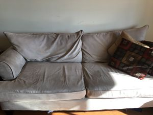 Sofa with love seat and pillows. Need to get rid of this by Sunday!!! for Sale in Silver Spring, MD