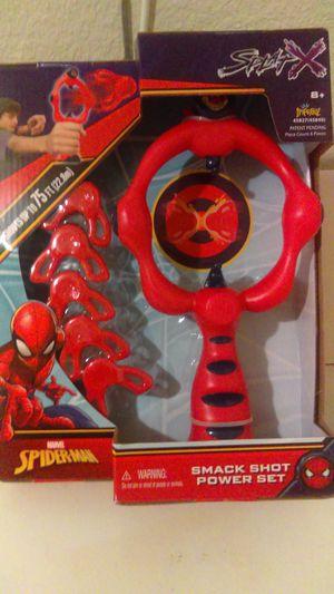 Marvel Spiderman Smack Shot Power Set for Sale in Jacksonville, FL