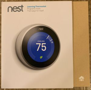 Brand New Nest Thermostat 3rd Generation for Sale in Culver City, CA