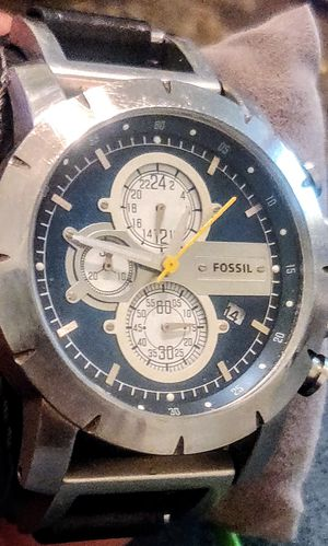 Men's Fossil Watch for Sale in Libertyville, IL