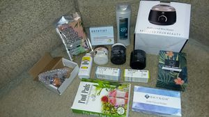 Lot of brand new beauty supplies including professional wax heater. ALL brand new. for Sale in Renton, WA