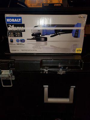 Kobalt 24v 5 inch angle grinder for Sale in Riverview, FL