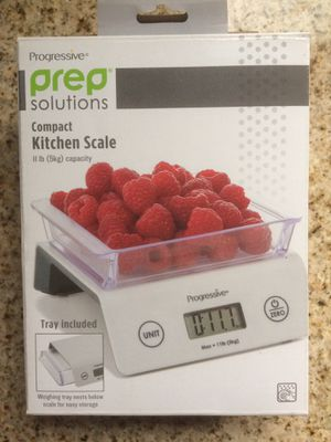 Prep Solutions compact kitchen scale for Sale in Chicago, IL