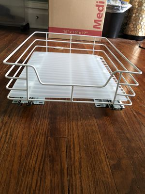 Glidez Roll-Out Pantry Organizer - 12'' Width for Sale in DeKalb, IL