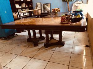 MESA PARA 6 SILLAS PURA MADERA /DINING TABLE 💯 WOOD for Sale in Hialeah, FL