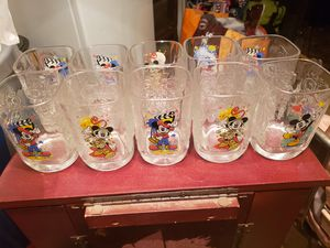 10 collectible Disney cups. Make offer for all. for Sale in Spartanburg, SC