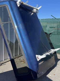 Dark Blue camper With Ladder Rack Ready! No Damage! Everything Works ! for Sale in Hyattsville,  MD