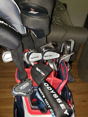 """Used 5 times Brand-new Full Set """"Adams Tight Lies"""" & Titleist Driver & Odyssey Putter for Sale in Framingham, MA"""