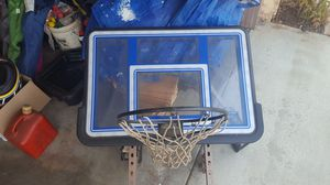 Basketball hoop (house mounted) for Sale in Moreno Valley, CA