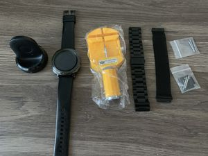 Samsung gear sport smart watch with extra bands for Sale in Arlington, VA