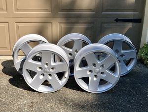 17inch Factory Jeep wheels rims for Sale in Graham, WA