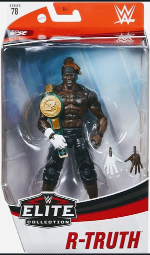 New WWE R-Truth Elite Collection Action Figure. for Sale in Apopka, FL