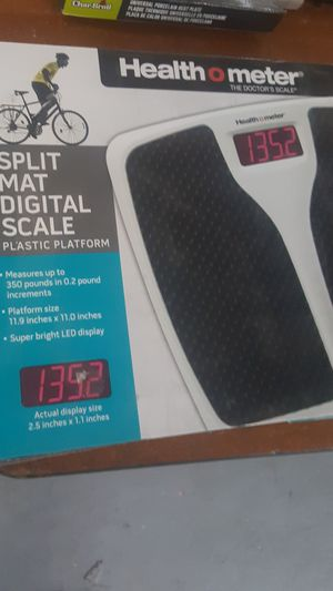 Health o meter digital scale for Sale in Dearborn, MI