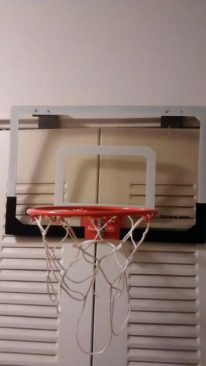 Mini Basketball hoop door hang on for Sale in Rockville, MD