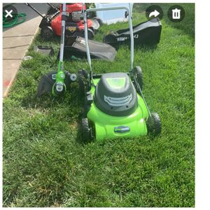 Electric Corded Lawn mower (green works) for Sale in North East, MD