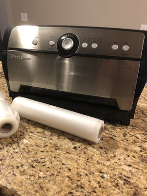 Food Saver Vacuum sealer $40 for Sale for sale  Woodbridge Township, NJ