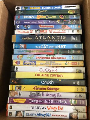 19 Assorted DVD's for $10.00 good condition for Sale in Fort Lauderdale, FL