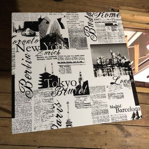 Unique Classy Newspaper-like Artwork Table And Lamp Shades for Sale in Nashville, TN