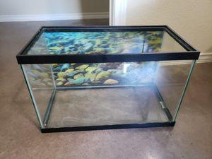 10 Gallon Aquarium + Accessories for Sale in Buda, TX