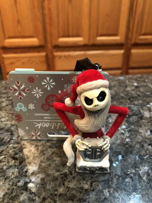 Collectible Disney Sketchbook Ornament Collection Nightmare Before Christmas Santa Jack. Brand new perfect condition for Sale in Artesia, CA