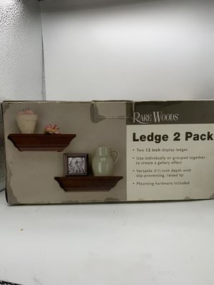 Rare wood ledge 2pack ,12inch for Sale in Los Angeles, CA