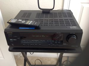 Onkyo HT-R430 Receiver with remote control for Sale in Houston, TX