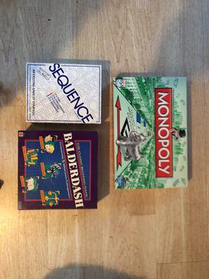 3 board games for Sale in Hillsboro, OR