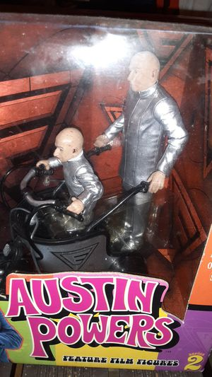Mcfarlane Toys Austin Powers Box Set Action Figures for Sale in San Francisco, CA