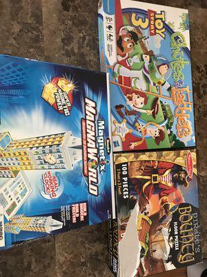 Magnetix, puzzles, game for Sale in Park Ridge, IL