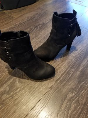 Metaphor black suede boots for Sale in Irving, TX