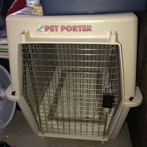 Pet Porter large dog crate for Sale in Murray, UT