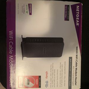 NETGEAR MODEM ROUTER for Sale in Dallas, TX