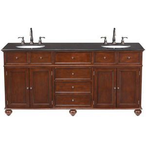H.D. Collection 72 in. W x 22 in. D Double Bath Vanity with Granite Vanity Top for Sale in Dallas, TX
