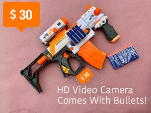 Nerf Gun With HD Video Camera for Sale in Humble, TX