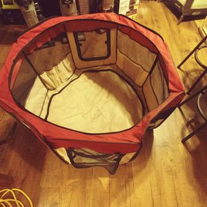 Doggie Nylon Cage No Top or Cover for Small Dogs for Sale in Riverside, CA
