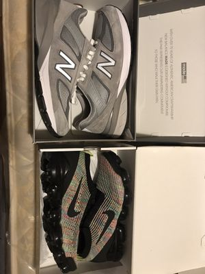 New Balance 990v5 | Nike Vapormax 3.0 Multicolor (BOTH SIZE 12) for Sale in Brooklyn, NY