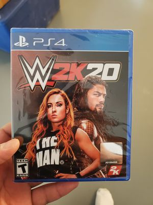 PS4 WWE 2K20 Brand New for Sale in Adelphi, MD