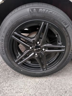 4 Rtx wheels 4x100 black for Sale in Smyrna, TN