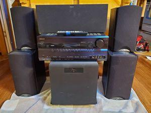 Klipsch speakers with receiver for Sale in Phoenix, AZ