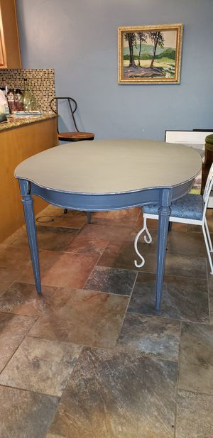 Solid Wood Re-finished Antique Kitchen Table for Sale in Norman, OK