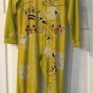 Child Pokemon Pikachu PJ Costume with Hoodie size 10 just $5 for Sale in Port St. Lucie, FL