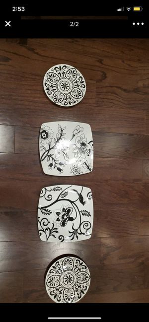 Decorative Accent Plates (4) by Roscher & Co. for Sale in Morrisville, NC