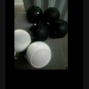 Lot of ORB Audio Speakers 6 no deliever for Sale in Downey, CA