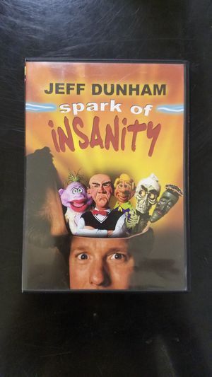 Jeff Dunham spark of insanity for Sale in Muncy, PA